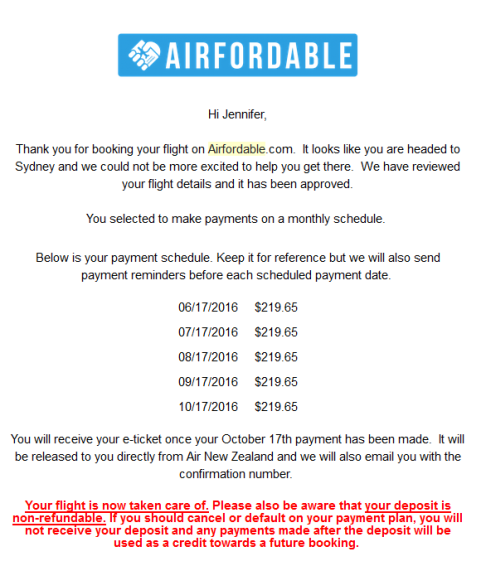 Airfordable